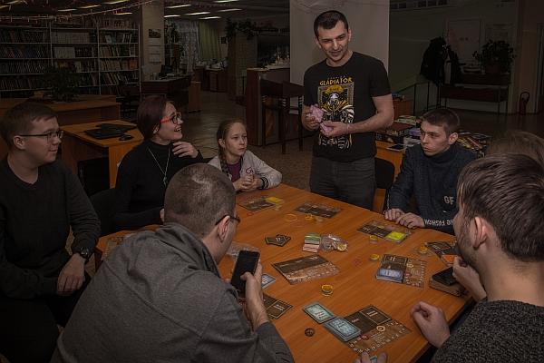 Клуб любителей настольных игр