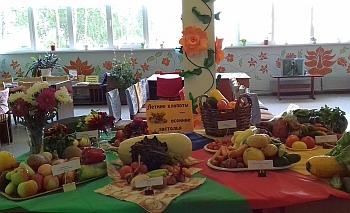 Праздник урожая в библиотеке № 2 Асбеста