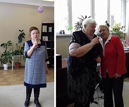 Букет весенних поздравлений для Асбестовских инвалидов по зрению